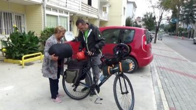 bisiklet -  Toy kuşları için bin 550 kilometre pedal basacak