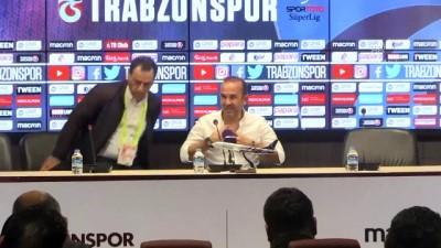 Trabzonspor-Büyükşehir Belediye Erzurumspor maçının ardından - Mehmet Özdilek - TRABZON