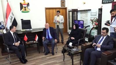 Türkiye'nin Bağdat Büyükelçisi Fatih Yıldız Musul Valiliğini ziyaret etti - MUSUL