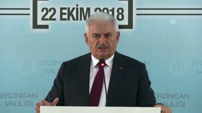 Yıldırım: 'Millet-devlet omuz omuza vererek medeniyet yolculuğumuza yürüyeceğiz' - ERZİNCAN