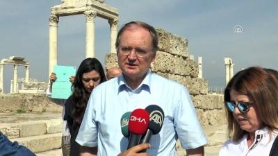 AB büyükelçileri Laodikeia antik kentini gezdi (2) - DENİZLİ