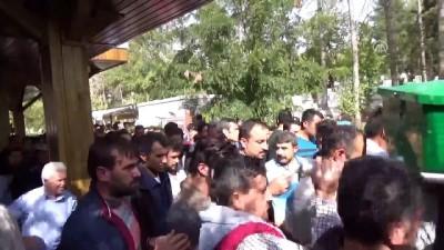 Aksaray'da barajda boğulan 3 arkadaş defnedildi