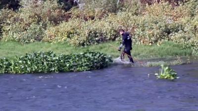 Asi Nehri'nde kaybolan genci arama çalışmaları sürüyor - HATAY