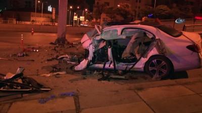 Başkentte trafik kazası: 2 ölü Video