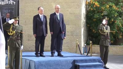 anit mezar - Çin Devlet Başkan Yardımcısı Çişan, Filistin'de (2) - RAMALLAH