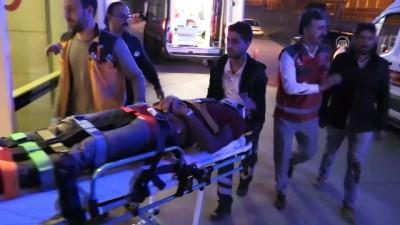İşçileri taşıyan otomobil devrildi: 4 yaralı - SİİRT