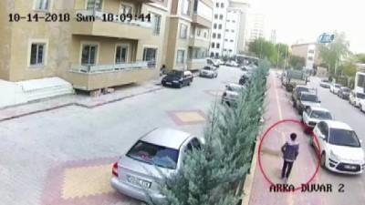 bisiklet -  Önce keşif yaptı sonra çaldı... Bisiklet hırsızı kameralara yakalandı Haberi
