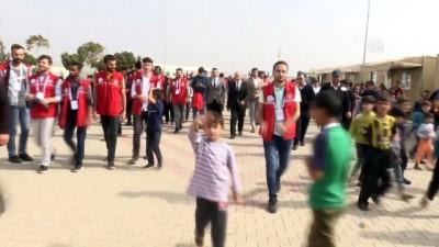 Üniversite öğrencilerinden Suriyeli çocuklara ziyaret - KİLİS