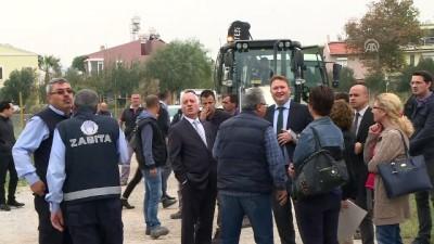 Urla'da 'işgalci yapı'ya yıkım - İZMİR