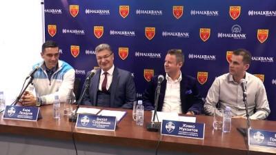 Halkbank, Makedonya Hentbol Federasyonunun resmi sponsoru oldu - ÜSKÜP