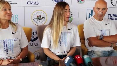 Milli sporcu Ercümen: 'Yarınki dalışımızda rekoru kırmak istiyoruz' - BURDUR