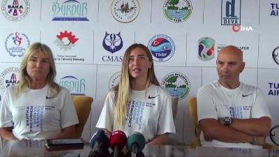 Şahika Ercümen Dünya rekoru 55 metreyi antrenmanlarda geçti