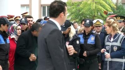agir yarali -  Şehit polise silah arkadaşlarından yürek burkan veda