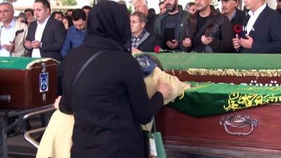 insaat firmasi -  Trafik kazasında ölen 4 kişilik aile, son yolculuğuna uğurlandı
