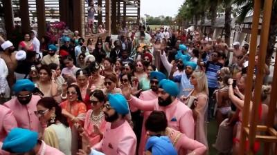 1,5 milyon dolarlık Hint düğünü - ANTALYA