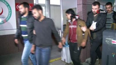 aybasi -  Afganlıyı gasp eden Suriyeliler yakalandı