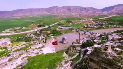 Hasankeyf ziyaretçilerini göl manzarasıyla ağırlayacak - BATMAN