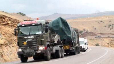 Suriye sınırına askeri sevkiyat - KİLİS