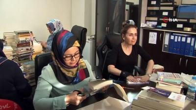 Tekkeköy İlçe Halk Kütüphanesi Karadeniz'e örnek olacak
