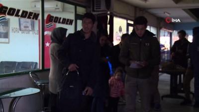 43 Afgan uyruklu kaçak mülteci 'İstanbul' diye Rize'ye bırakıldı