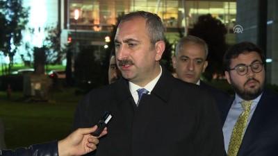 Adalet Bakanı Gül: '(Kaşıkçı cinayeti soruşturması) İade talepnamesinin yerine getirilmesi beklenmektedir'' - ANKARA