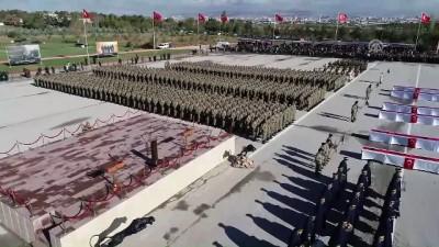 Bedelli askerlerin yemin töreni - Drone (3) - ANKARA