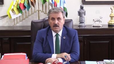 Destici: 'Yazıcıoğlu davası kasten istismar edilmektedir' - ANKARA