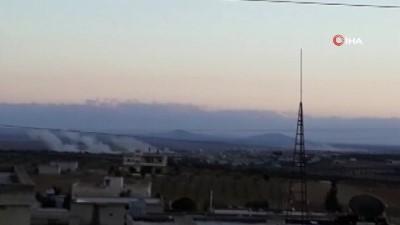 rejim -  - Esad rejimi, Soçi Mutabakatı'nı ihlal ederek İdlib'e saldırdı: 7 sivil öldü - Saldırıda 3'ü çocuk 3'ü kadın 1'i erkek olmak üzere 7 sivil öldü