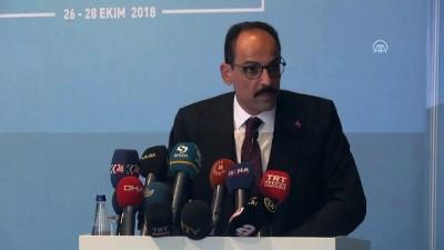 Kalın: '(Suriye konulu dörtlü İstanbul zirvesi) Beklentimiz, siyasi çözüm yolunda atılacak adımların netleştirilmesi' - DİYARBAKIR