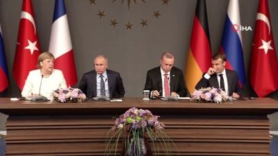 """Almanya Başbakanı Angela Merkel: """"İnsanların geriye dönmesi için siyasi bir çözüm gerekmektedir"""""""