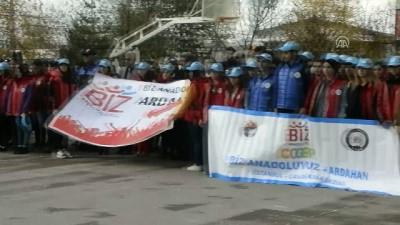 'Çanakkale'de Türk milletinin ne olduğunu göreceksiniz' - ARDAHAN