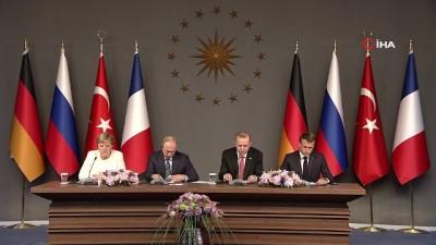 Cumhurbaşkanı Recep Tayyip Erdoğan: 'Sahada emrivakileri asla kabul etmeyeceğiz'