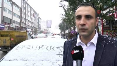 hava sicakligi -  Doğu Anadolu'da kar yağışı etkili oldu