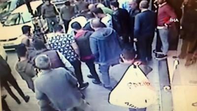 agir yarali -  Fatih'te Tacikistanlıların ölümlü kavgası kamerada