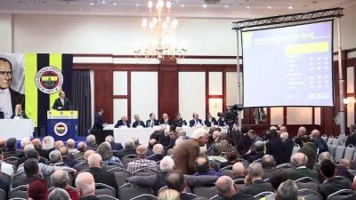 Fenerbahçe Kulübü Yüksek Divan Kurulu toplantısı başladı - Burhan Karaçam - İSTANBUL