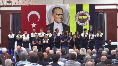 Fenerbahçe Kulübü Yüksek Divan Kurulu toplantısı başladı - Sevil Zeynep Becan (2) - İSTANBUL
