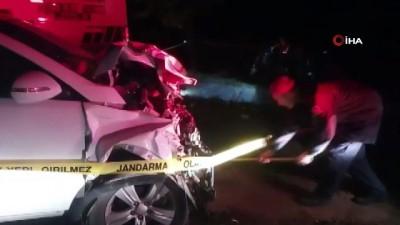 agir yarali -  İzmit-Kandıra yolunda feci kaza: 4 ölü, 1 ağır yaralı