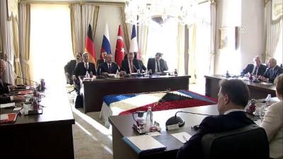 Suriye konulu dörtlü zirve başladı - İSTANBUL