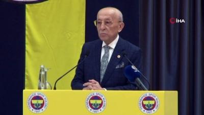 """Vefa Küçük: """"Futbol takımımızın bulunduğu nokta hiçbirimizi memnun etmiyor"""" - Fenerbahçe Yüksek Divan Kurulu Başkanı Vefa Küçük: - """"Başkana ve yönetime destek olmak lazım"""""""