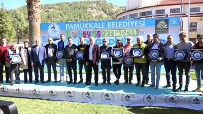 Pamukkale'de vosvoslarla Cumhuriyet konvoyu - DENİZLİ