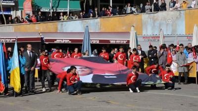 29 Ekim Cumhuriyet Bayramı -Vali Çimen'in bilek güreşi - GÜMÜŞHANE