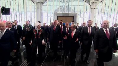 Cumhurbaşkanı Erdoğan, yeni havalimanında - Konuk liderlerle toplu fotoğraf çekimi - İSTANBUL