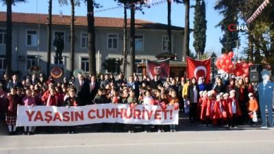 Dursunbey'de Cumhuriyet çoşkusu