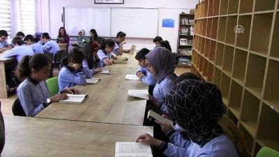 'Kitap okuma' teneffüsünü sabırsızlıkla bekliyorlar - TEKİRDAĞ
