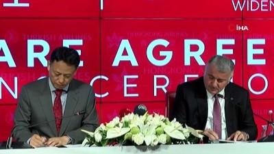 kutuphane -  THY ile Hong Kong Havayolları ortak uçuş anlaşması imzaladı