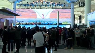 medya kuruluslari - Yeni havalimanının açılışına yoğun ilgi (2) - İSTANBUL