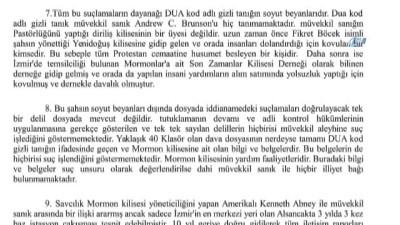 ev hapsi -  Avukat İsmail Cem Halavurt, Brunson'ın ev hapsi cezasının kaldırılması için Anayasa Mahkemesi'ne başvurdu.