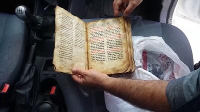 'İbranice el yazması büyü kitabı' operasyonu - KIRŞEHİR