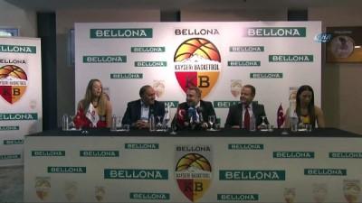 Kayseri Basketbol Kulübü Bellona ile sponsorluk imzaladı