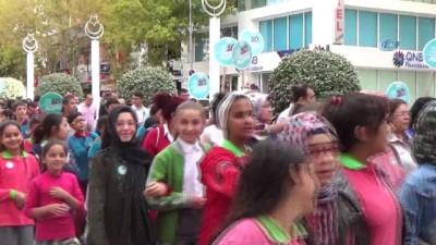 Niğde'de 3-4 Ekim Dünya Yürüyüş Günü nedeniyle yürüyüş düzenlendi